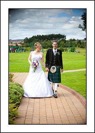 wedding at piperdam dundee