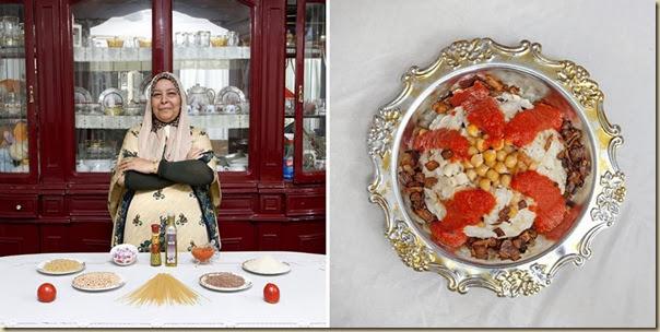 Portraits de grand-mères et leurs plats cuisinés (27)