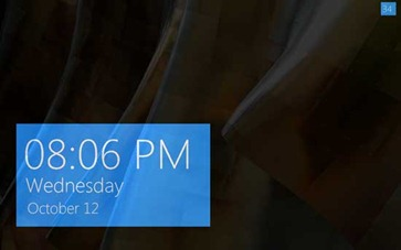 Windows 8 Clock Screensaver for Windows 7