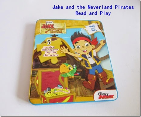 jake and the neverland pirates read and play book