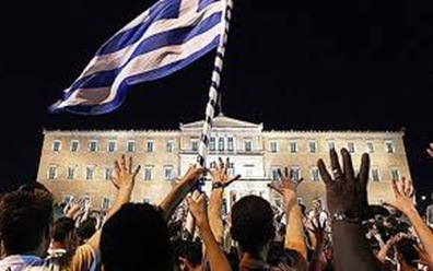 greece crisis protests