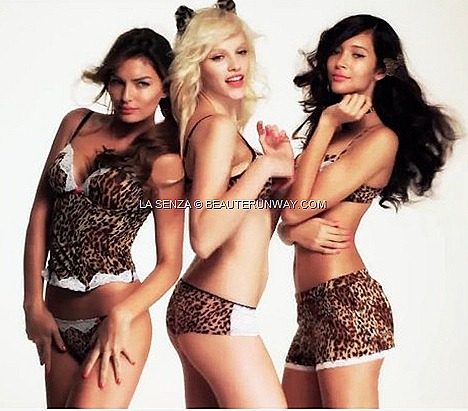 LA SENZA 2012 SPRING 2012  LINGERIE FIERCE ANIMAL PRINTS