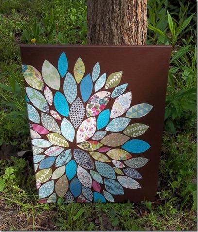 48 flower wall art