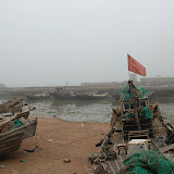 Qingdao - Port de pêche ? Pavillon chinois