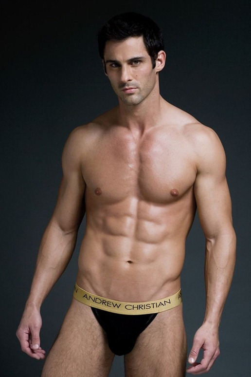 unknown model for andrew christian2