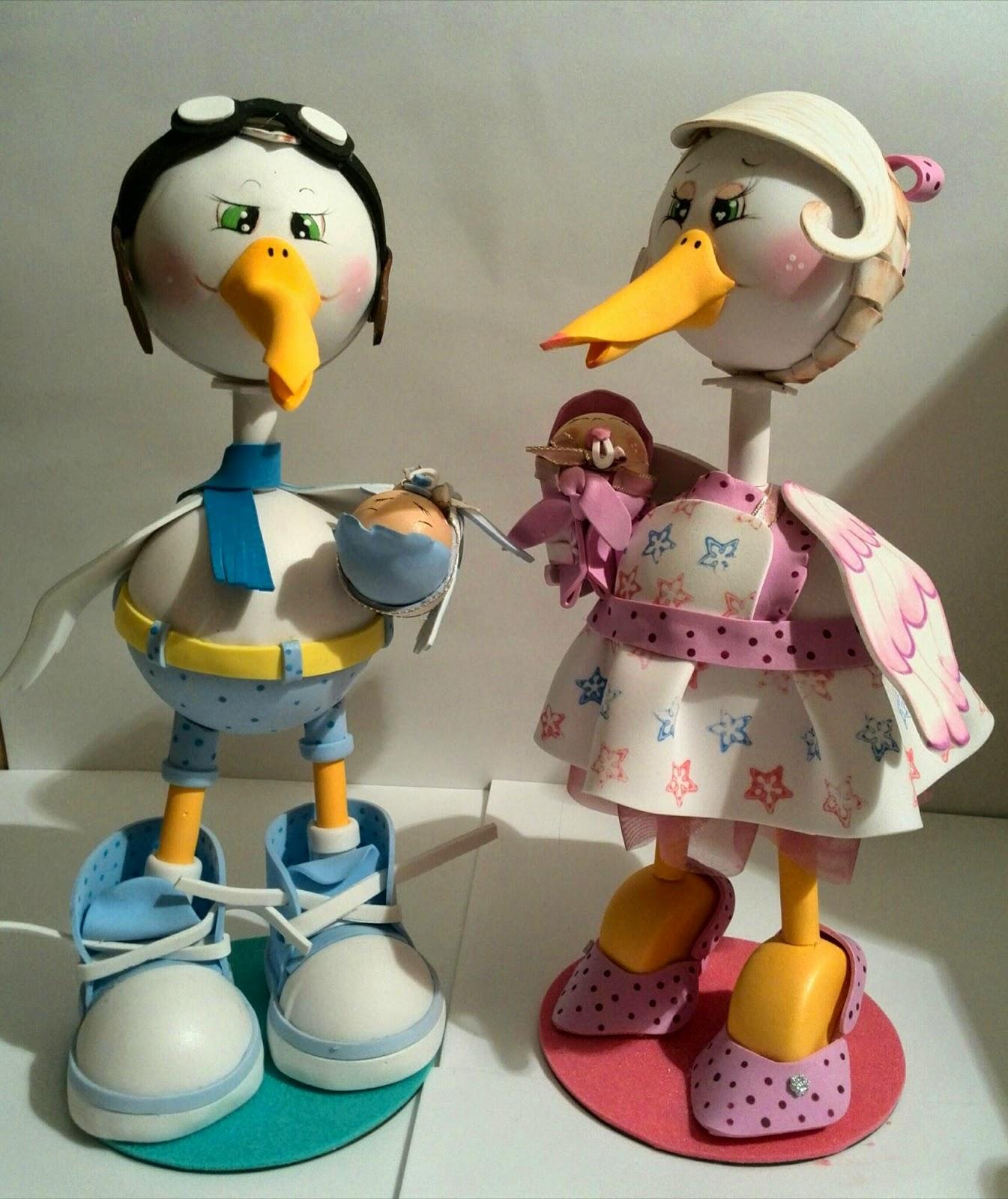 Manualidades Tiendas f Centro de mesa para Baby Shower