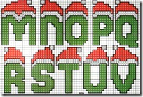 letras punto de cruz navidad (3)