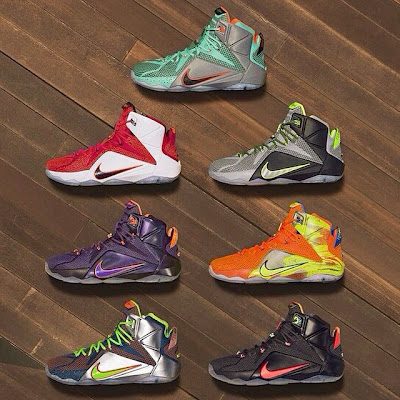 nike lebron 12 xx unveiling 1 03 Seven Nike LeBron 12 Colorways Revealed to Launch in 2014