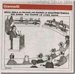 Renzi pôe em causa entendimento PPE - PSE. JUL.2014