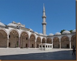 Istanbul, Suleymain Mosque N