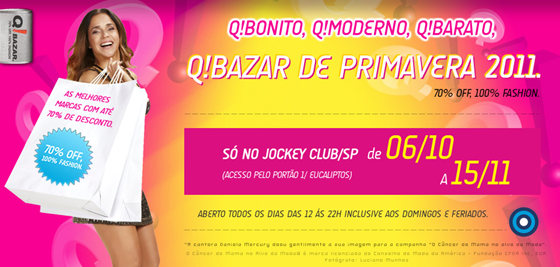 Q! Bazar Primavera 2011- Jockey Club SP.