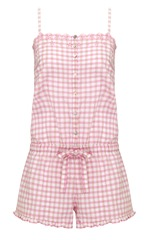 Amelia Gingham Playsuit pink mix £26
