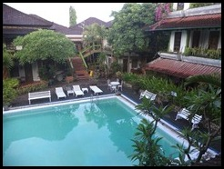 Indonesia, Bali, Kuta Hotel, View from room, January 2013 (1)
