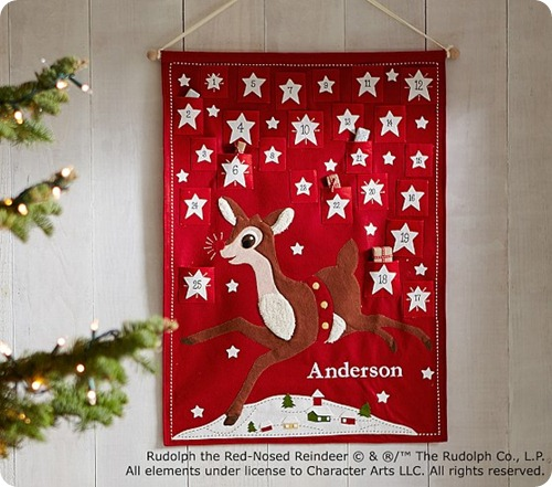 rudolph advent calendar