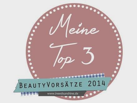Meine Top 3 Beauty Vorsätze 2014