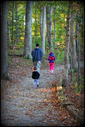 ahdoo girls fall walk