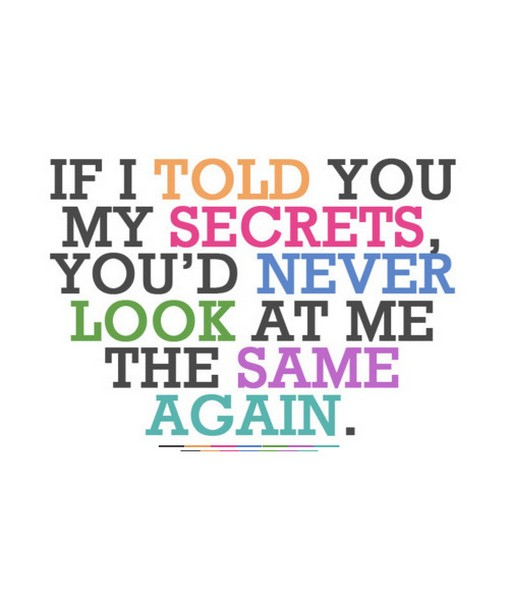 secrets quotes and sayings