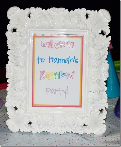 Hannah's 4th Birthday! 008