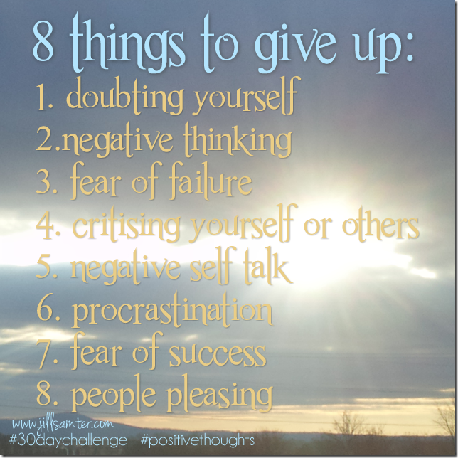 8thingstogiveup