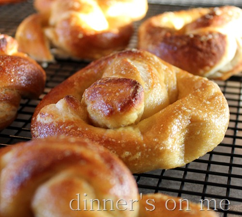 pretzels finished