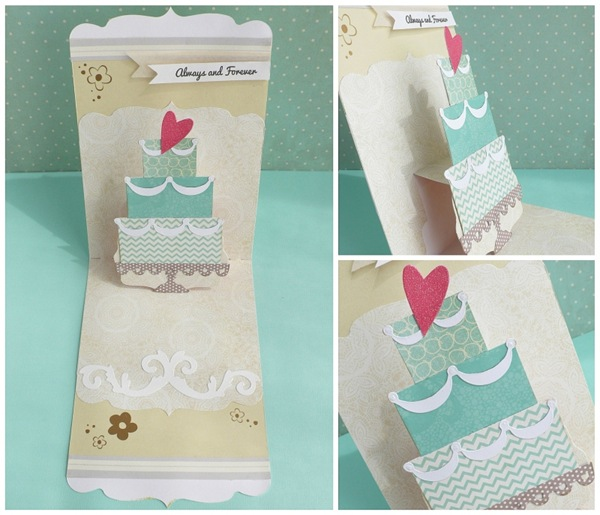 cafe creativo - big shot sizzix - card wedding pop up (4)