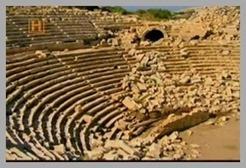 Ruinas-do-Afiteatro-de-Patara-na-Atu