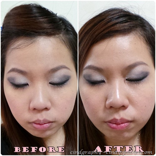 Laura Mercier Eye Primer Before and After