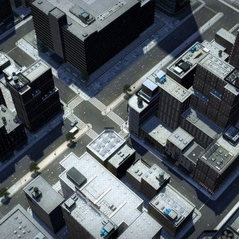 Urban The Big City 3D Models