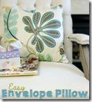 easy envelope pillow