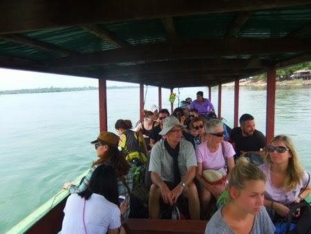 entre Nakasong y Don Khon, Laos