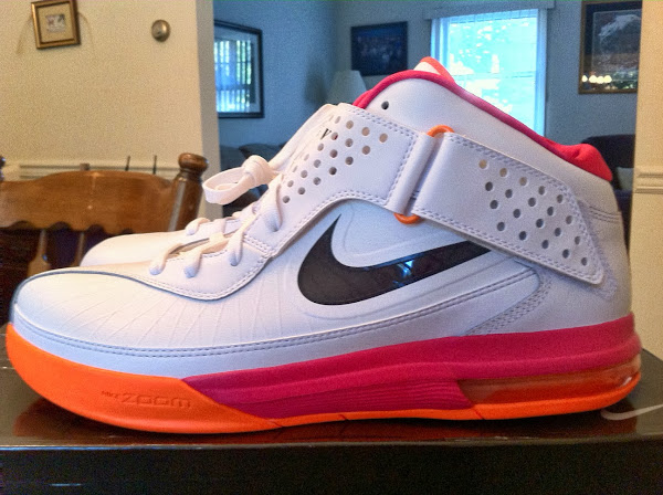 TBT Nike Air Max Soldier V Miami Heat Floridians PE