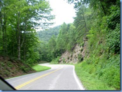0428 North Carolina - Lakeview Drive - 'The Road to Nowhere' - Smoky Mountain National Park