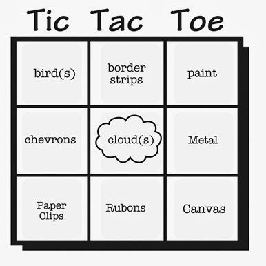 march tic tac toe grid