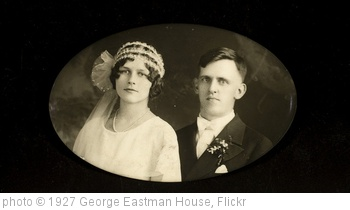 'Bride and groom' photo (c) 1927, George Eastman House - license: http://www.flickr.com/commons/usage/