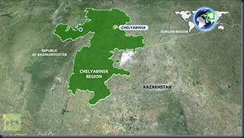 localização-queda-meteoro-na-russia