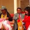 Entrega de Incentivos a niñas y mujeres jovenes de la ciudad de Oruro que participan de los III Juegos Estudiantiles Plurinacionales