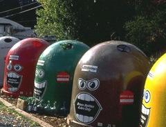 riciclaggio contenitori animati