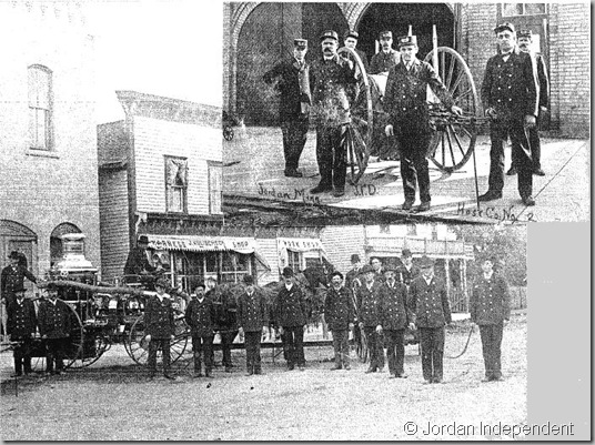 Jordan Fire Department - 1887 - &copy;Jordan Independent