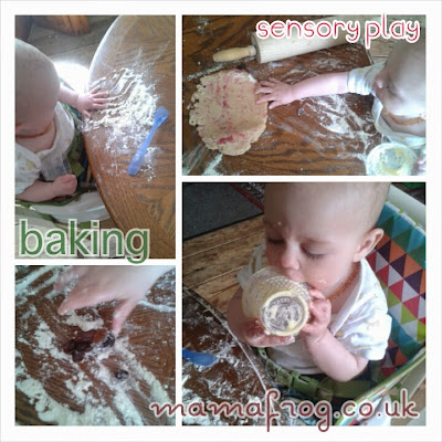 baking with babies and toddlers