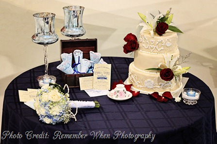 Cake Favor Table