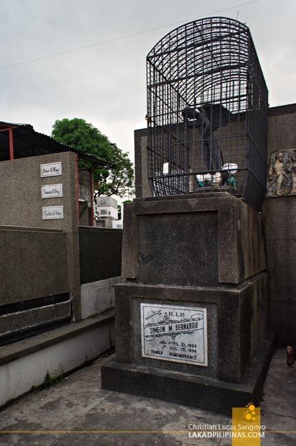 The Devil Over Simeon Bernardo's Tomb