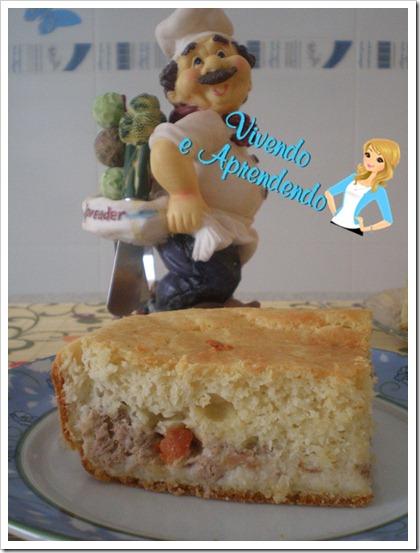 torta de atum com queijo minas