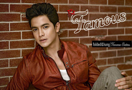 Alden Richards for Folded and Hung Famous Salon
