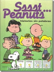 P00019 - Charles Schulz - Sssst...Peanuts. Historias sin palabras.howtoarsenio.blogspot.com