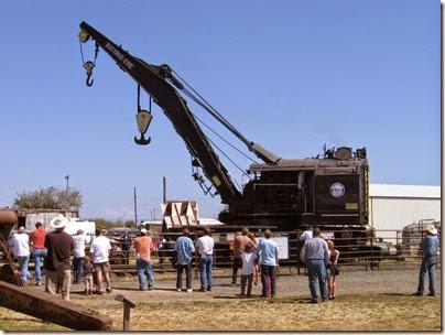 IMG_4956 1927 Bucyrus-Erie 160-Ton Steam Railway Derrick Crane SPMW #7020 at Antique Powerland in Brooks, Oregon on July 31, 2010