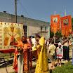 Крестный ход в ст. Джерелиевской Краснодарского края 7 июля 2013 года.