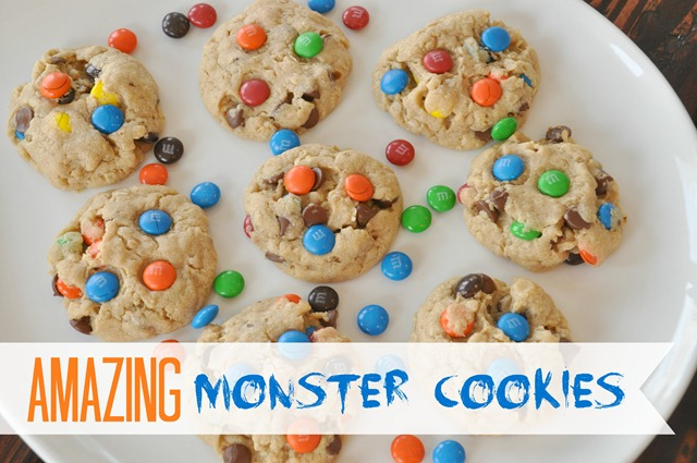 Amazing Monster Cookies