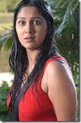 ankitha in rain