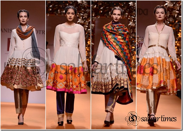 Aishwarya Rai in Manish Malhotra Saree Collection 2014