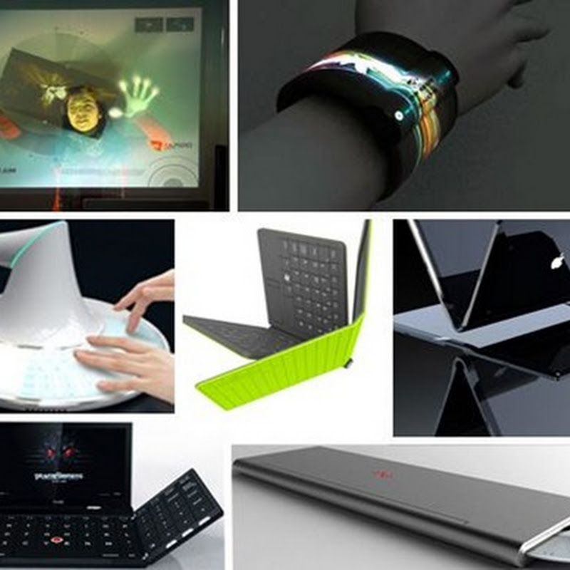 10 FUTURISTIC FOLDING + FLEXIBLE COMPUTER IDEAS
